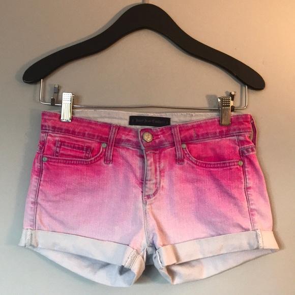 Juicy Couture Pants - Juicy Couture Pink Ombré Shorts Size 24